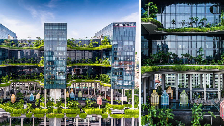 PARKROYAL on Pickering, World's Leading Green City Hotel in Singapore