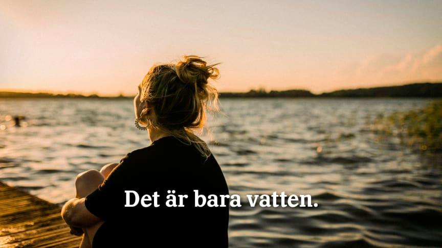 Vatten är vår viktigaste naturresurs och vi kan inte längre slösa med vårt viktigaste livsmedel. Foto: Mathilda Lindqvist