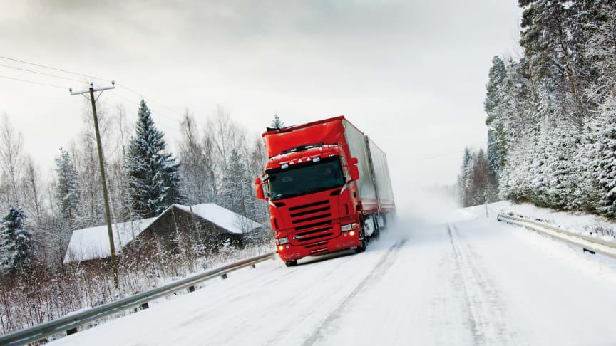Norge indfører lovkrav om vinterdæk på lastbiler