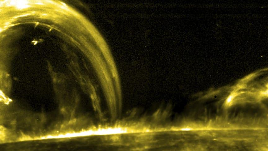 Images taken by NASA's IRIS telescope have captured 'nanojets' within the Solar Corona