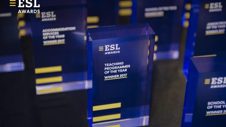 ESL Language Travel Awards 2017