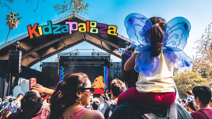 Kidzapalooza - barnens egna festivalområde inne på Lollapalooza
