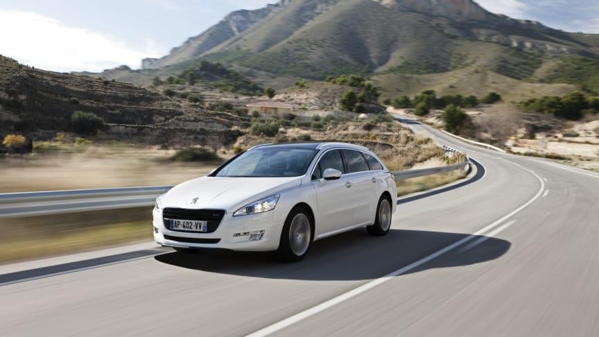 Ännu en miljöbil från Peugeot -  508 med snåldiesel och manuell växellåda