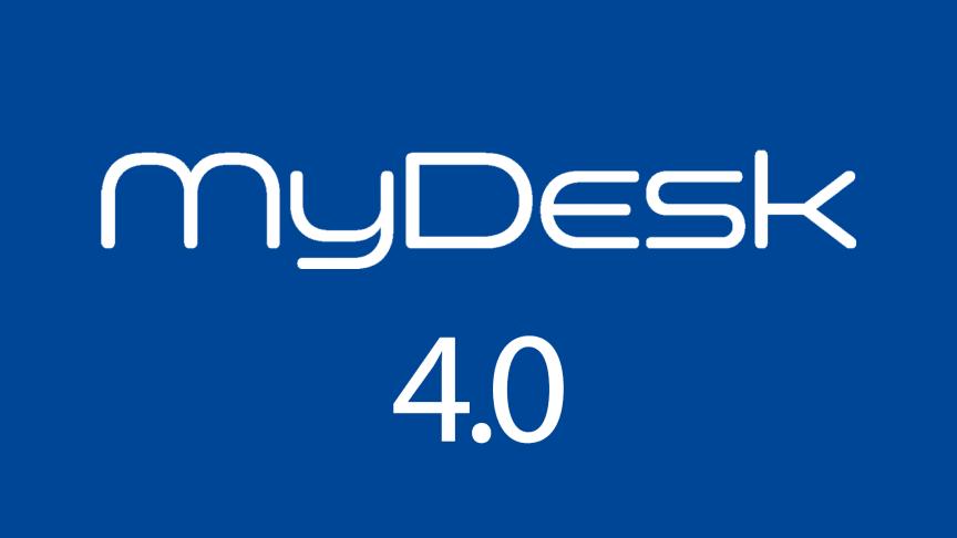 Version 4.0 af MyDesk er ude nu