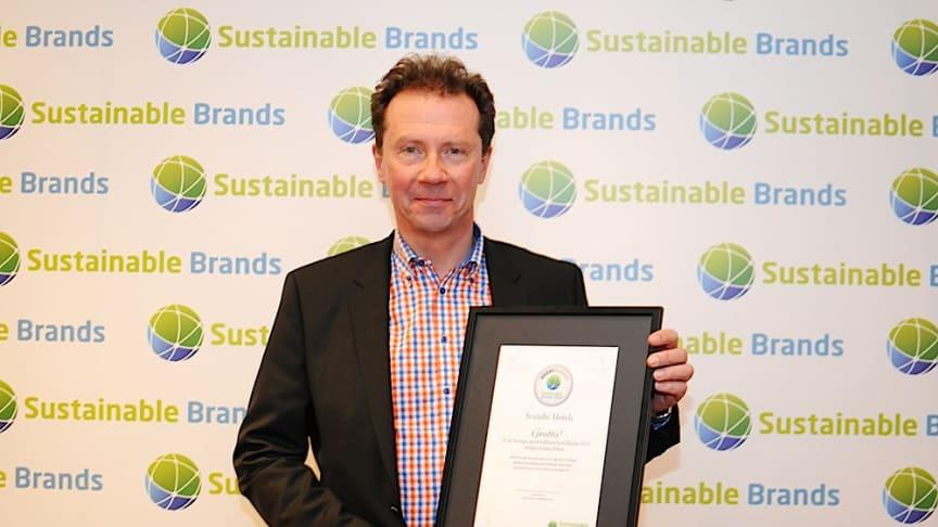 Scandic bästa hotellkedjan på hållbar utveckling