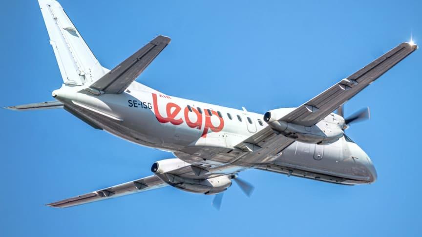 Från och med den 10 augusti utökar Air Leap sitt linjenät från Bromma med destinationerna Göteborg, Malmö och Ängelholm. Fotograf: Gustav Karlström.