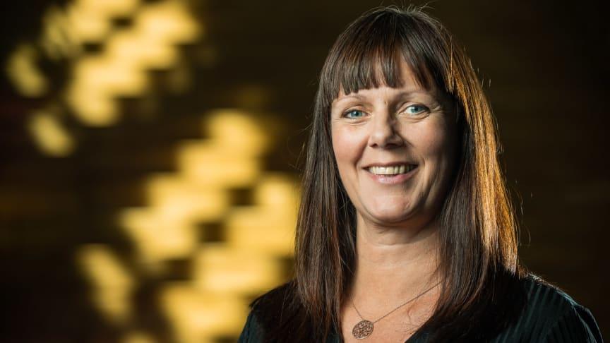 Katarina Selin, koordinator ForskarFredag. Fotograf Jens Ökvist/Kråkkullen Produktion