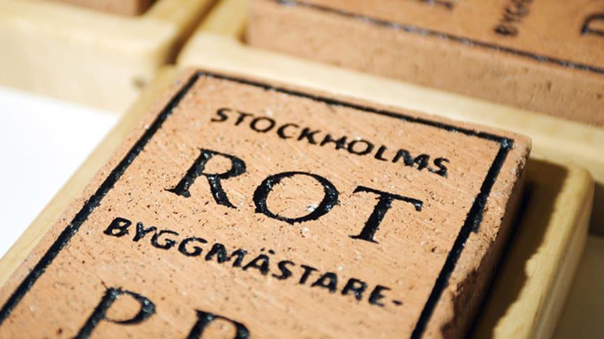De tävlar om Stockholms Byggmästareförenings ROT-pris 2020