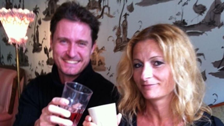 Storytel på lunch med Katarina Janouch