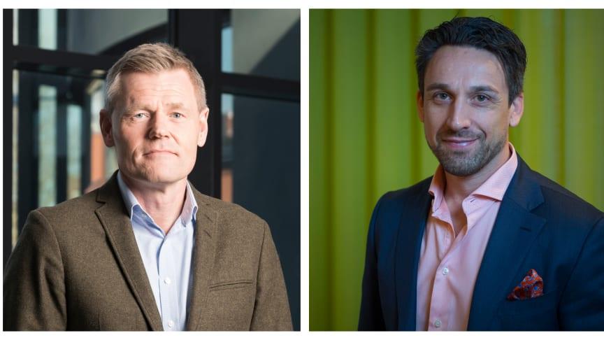 Urban Paulsson och Stefan K Nilsson, vd på Lipigon.