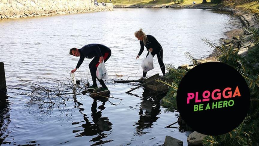 Plogga efter Varvet - för en aktiv och ren stad