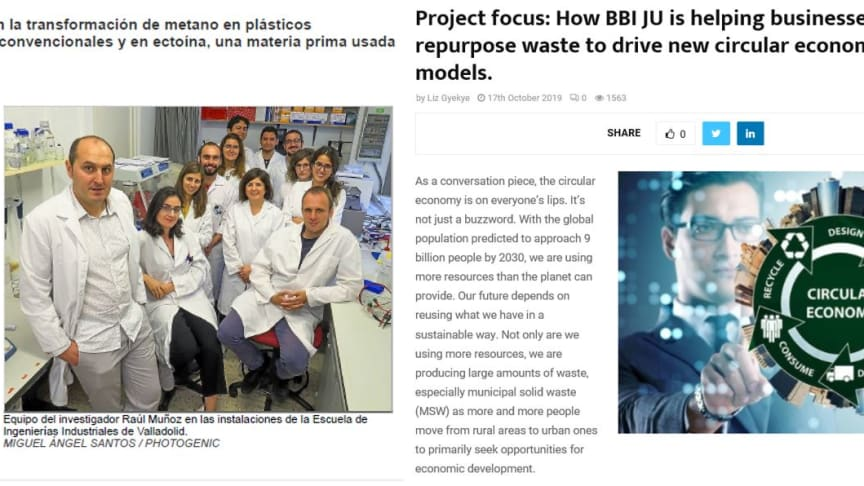 URBIOFIN PROJECT MENTIONED IN ONLINE ARTICLES