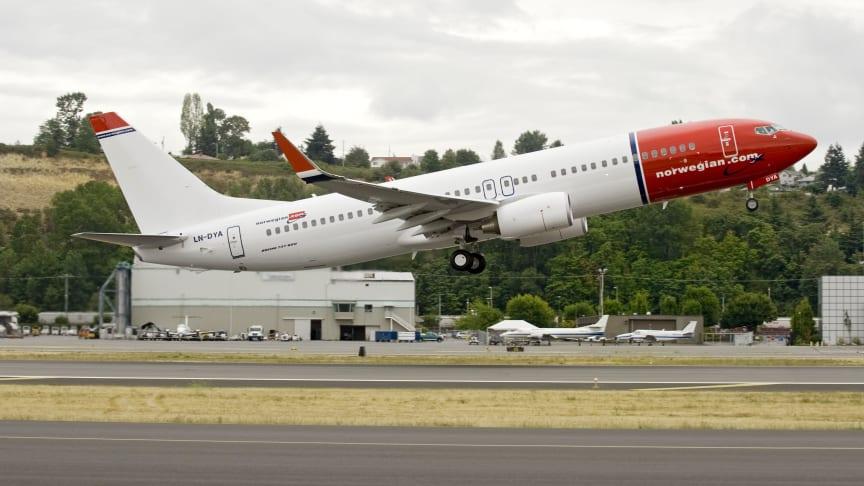 Norwegian köper ytterligare 15 nya Boeing 737-800
