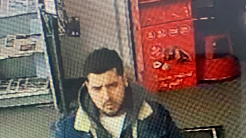 Man wanted in connection with the robbery of an elderly woman