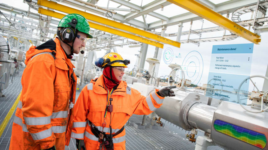 Kongsberg Digital and Shell sign agreement on digitalization partnership, including a Kognifai Dynamic Digital Twin of the Nyhamna gas facility