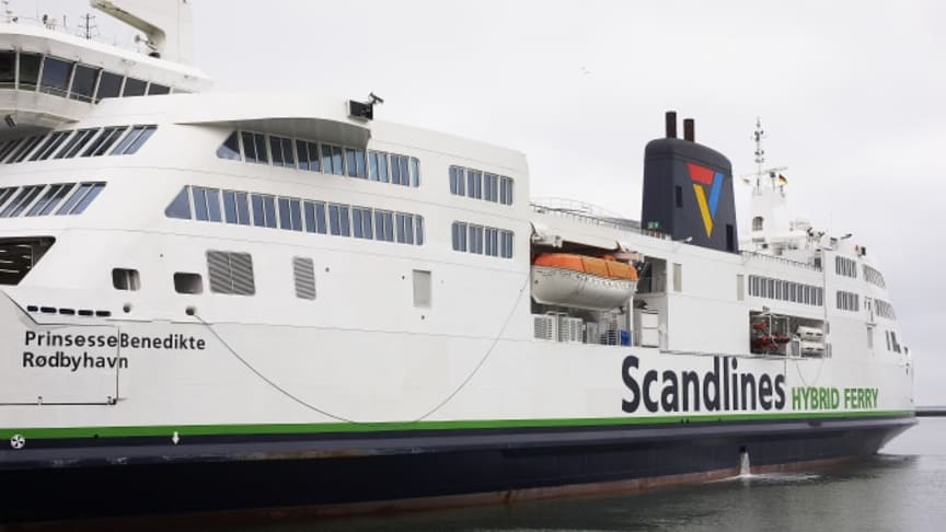 "Scandlines' Hybridfähre ""Prinsesse Benedikte"""