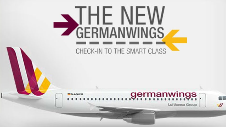 New Germanwings To Become Europe S Most Modern Airline With A La Carte Travel Deutsche Lufthansa Ag
