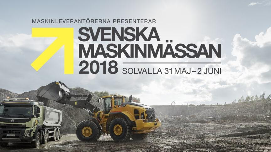 Swecon finns i monter Ö:20 på Svenska Maskinmässan. 3 000 kvadratmeter med svenskt stål.