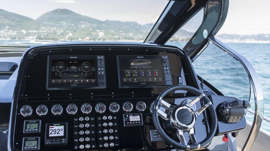 For illustrative purposes, Yachtsense on a SACS Rebel 47