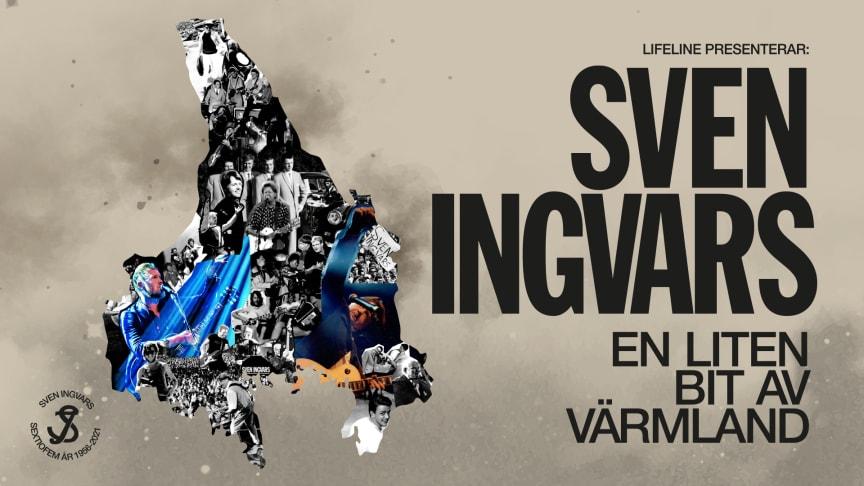 """Sven Ingvars firar 65 och ger sig ut på en efterlängtad jubileumsturné! Sven Ingvars – """"En liten bit av Värmland""""."""