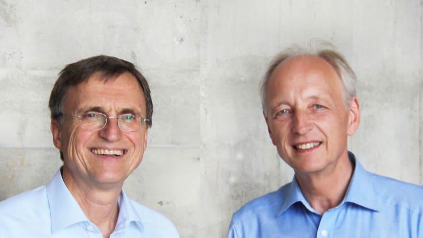 Georg Soldner und Matthias Girke, Leitung der Medizinischen Sektion am Goetheanum (Foto: Heike Sommer, Montage aus zwei Bildelementen)