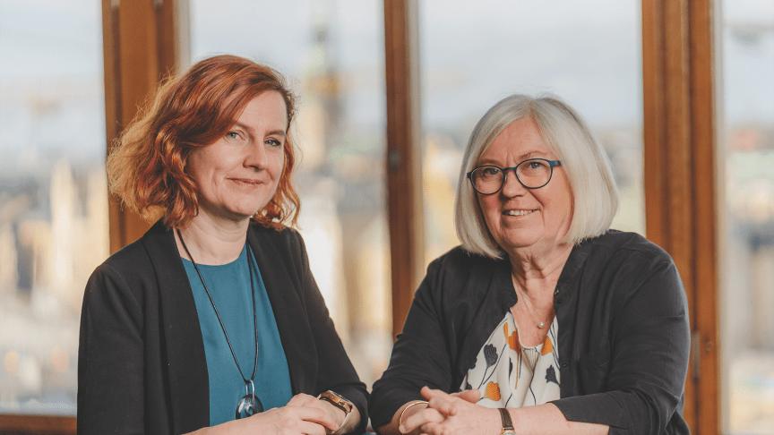 Katarina Ringstedt och Siv Axelsson