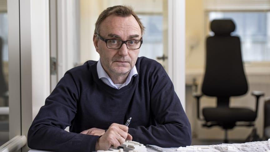 – Tilbudspapirene er klar i august. De sendes interesserte entreprenører, sier utbyggingsdirektør Jon Chr. Simenstad i Drammen Helsepark AS.