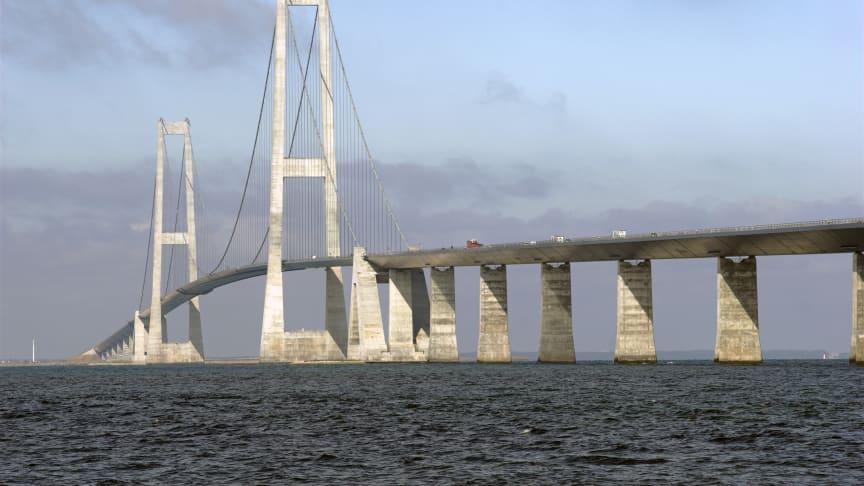 Telenor: Bedre mobildækning over Storebæltsbroen