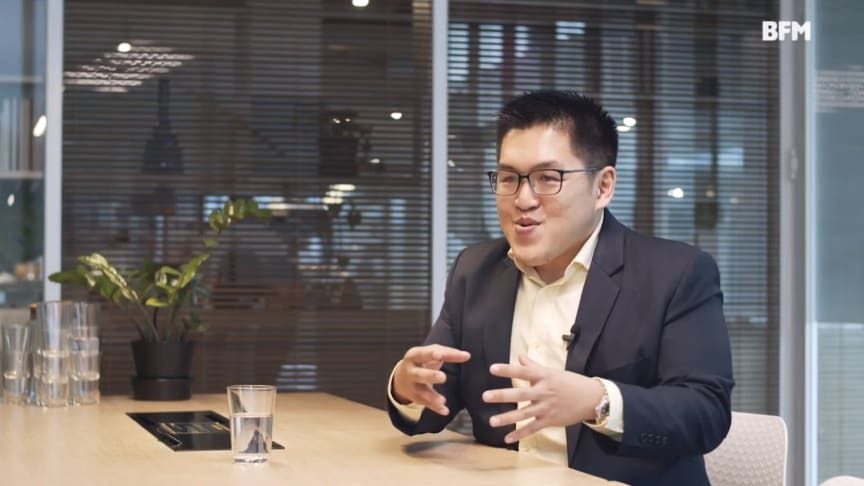 Dr Lau Cher Han in an interview with BFM