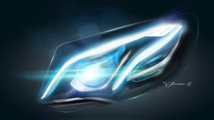 Den tiende generation Mercedes E-Klasse er blevet præsenteret