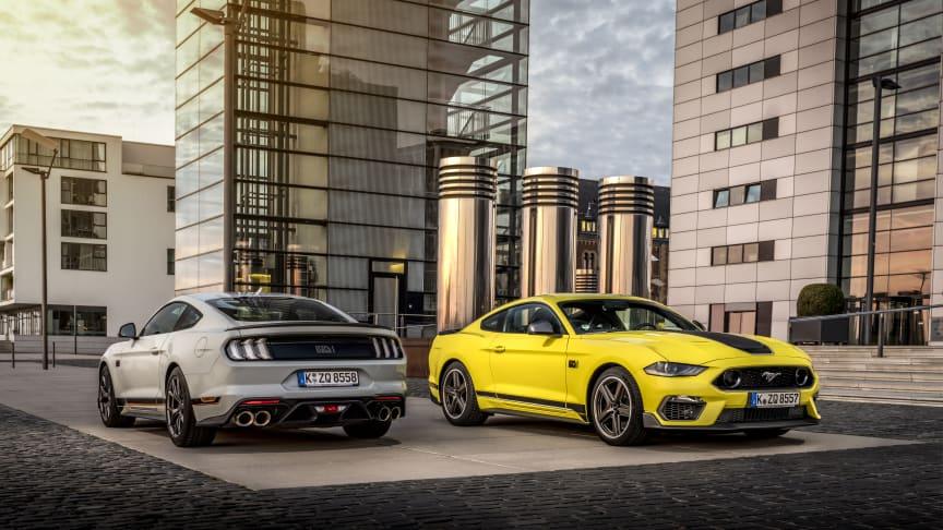Mustang Mach 1 kommer til Europa – med debut på Goodwood