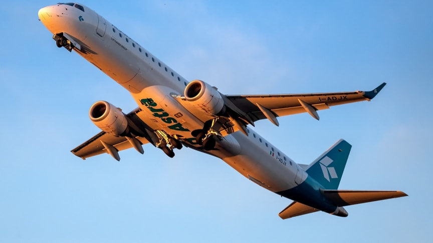 Foto: Air Dolimiti Embraer 195