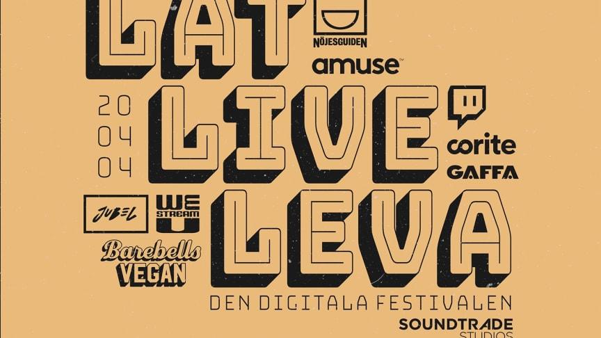 Barebells stöttar Låt Live Leva - den digitala livefestivalen