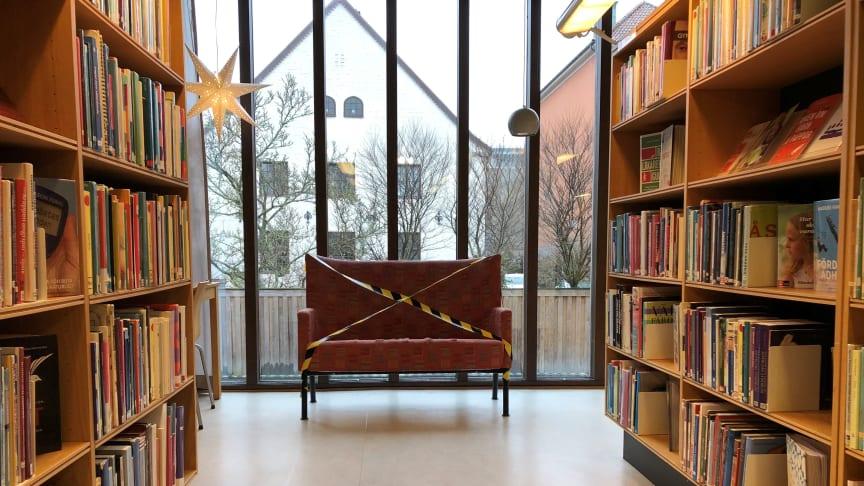 Biblioteken i Kristianstad öppnar den 12 januari!