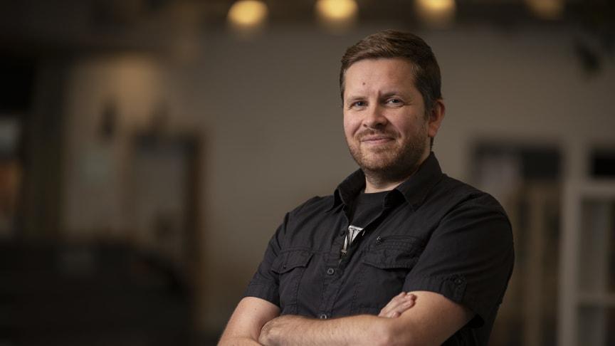 Kristens Gudfinnsson, doktorand i informationsteknologi på Högskolan i Skövde, forskar inom området Business Intelligence.