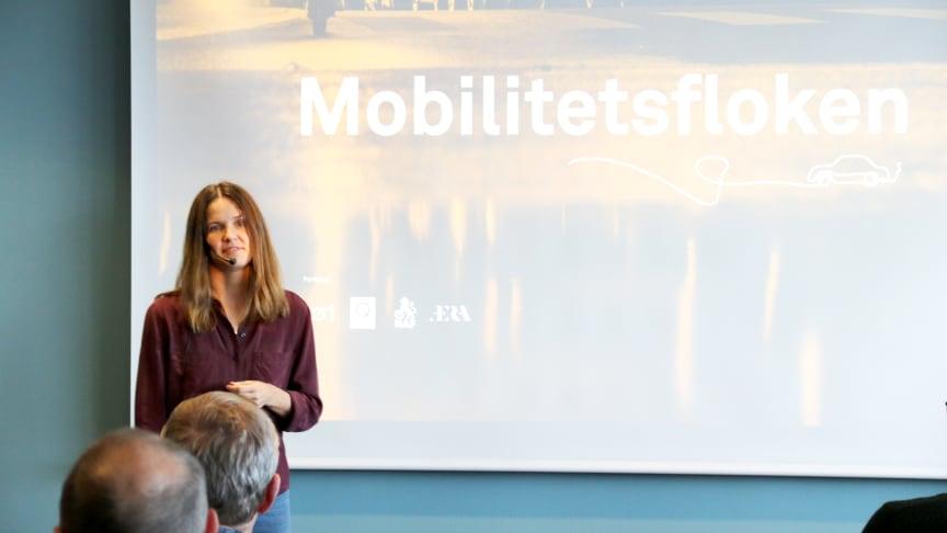 """Kirsti Strømstad er prosjektleder for """"Mobilitetsfloken"""", og er glad for å få taxiforbundet med på å løse den."""