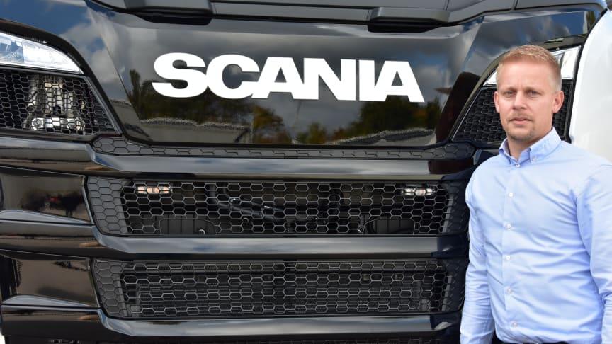 Thomas Hansen er den 1. oktober 2019 ansat som salgskonsulent hos Scania Danmark