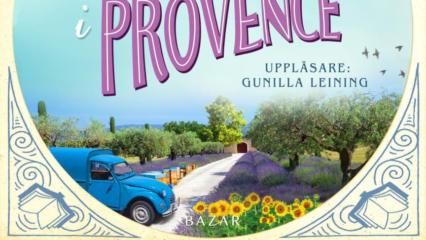 Framsidesbild audio Den lilla bokbussen i Provence
