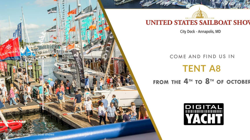 Digital Yacht at Annapolis Sail Show - Booth A8