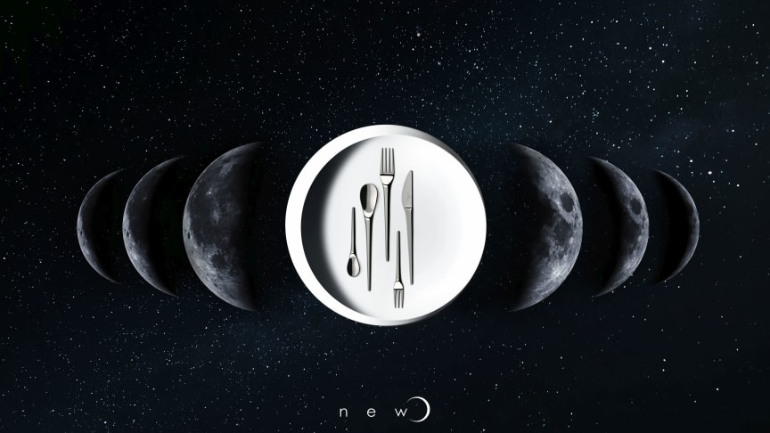 A design inspired by the moon –  NewMoon:  The perfect feel meets extraordinary design