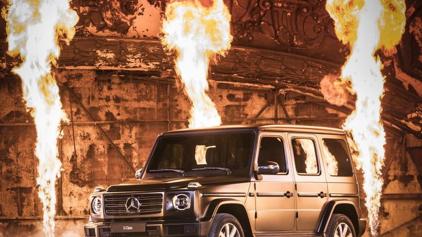 Mercedes-Benz præsenterer ny G-Klasse i Detroit