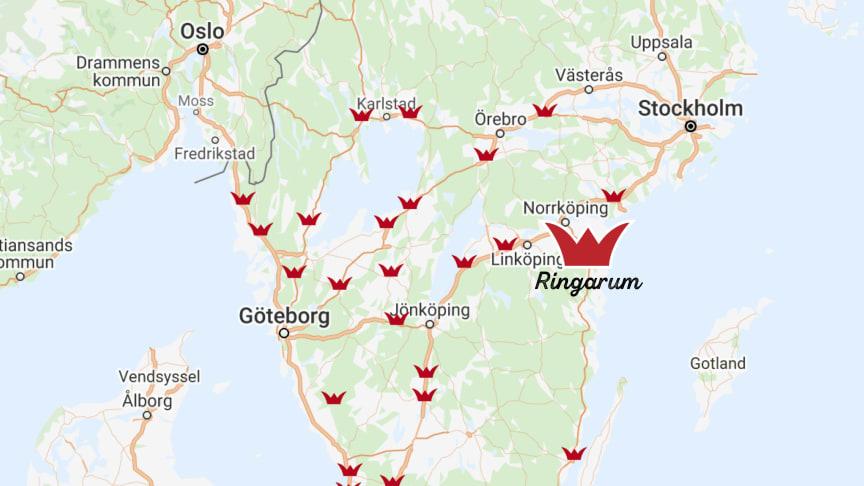 Ringarums Värdshus blir för Rasta nr 27 i ordningen