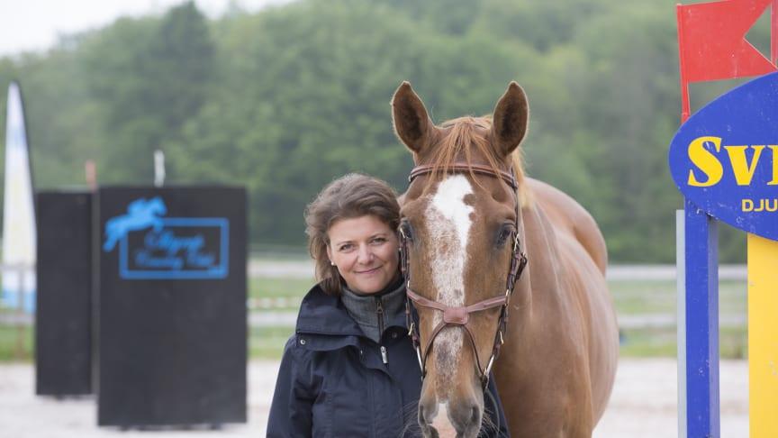 Anna Wemlert ligger bakom Skyrup Country Club och Sveland Arena.