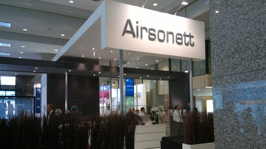 Airsonett attracted great interest at EAACI Istanbul