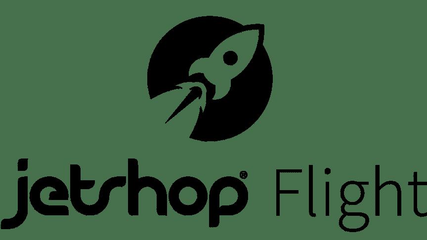 Jetshop Flight logo svart