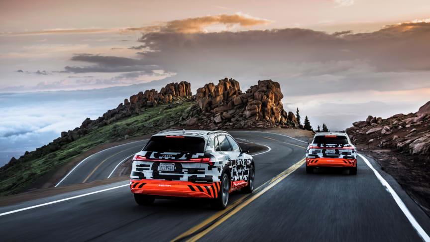 Avanceret rekuperationskoncept i Audi e-tron giver ekstra rækkevidde