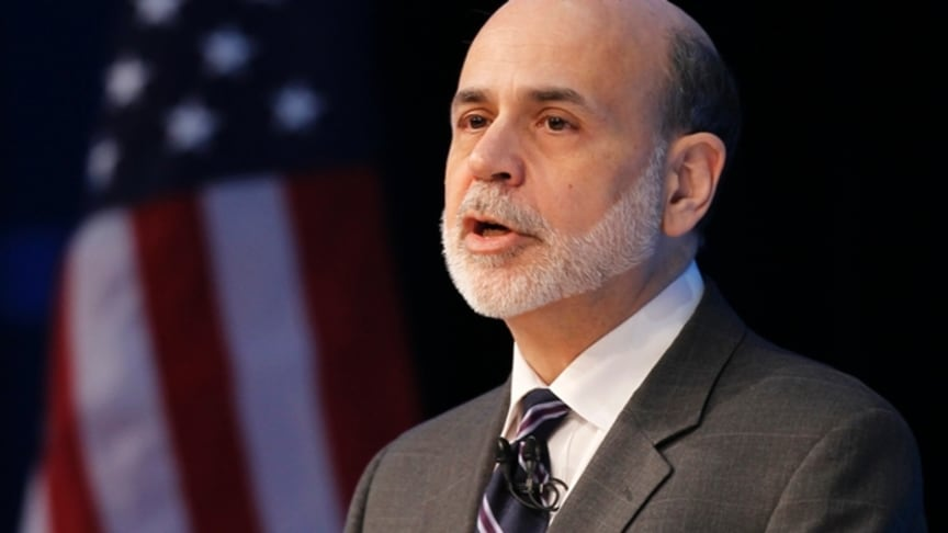 Brent steady on Bernanke comments