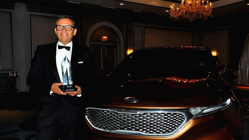 "Kia's Peter Schreyer får ""Life Time Design Achievement Award"""