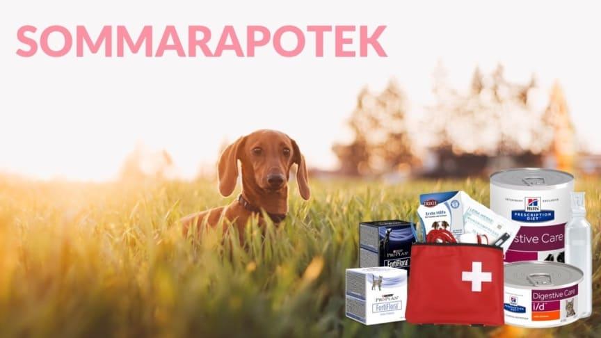 2288 - Djurens Vårdguide och FirstVet lanserar sommarapotek