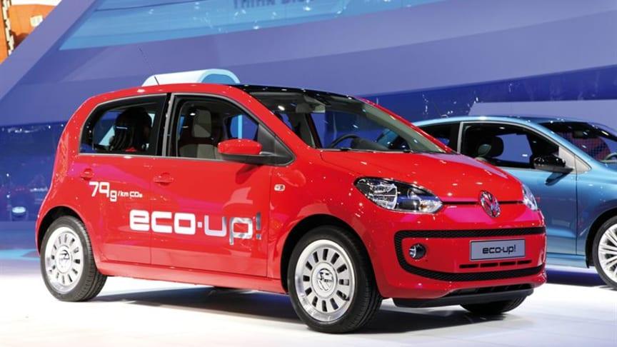 Volkswagen eco up! – en av världens mest miljöeffektiva bilar